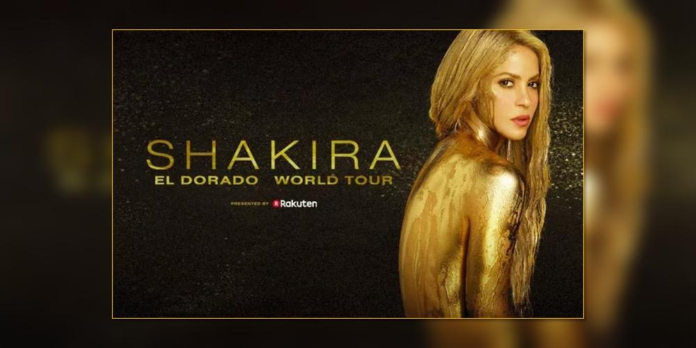 Shakira remarca concerto em Portugal para o mês de junho
