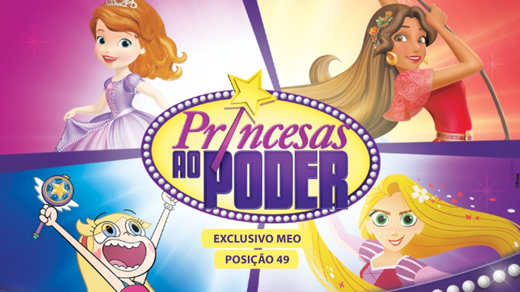 MEO dedica canal às Princesas da Disney em dezembro