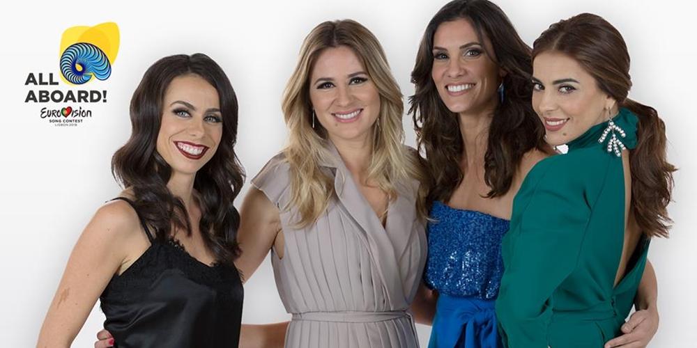 RTP oficializa nomes dos apresentadores do «Eurovision 2018»