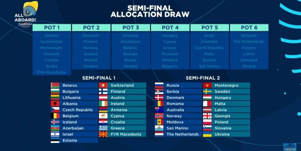 Conheça as atuações de cada semi-final do «Eurovision Song Contest 2018»
