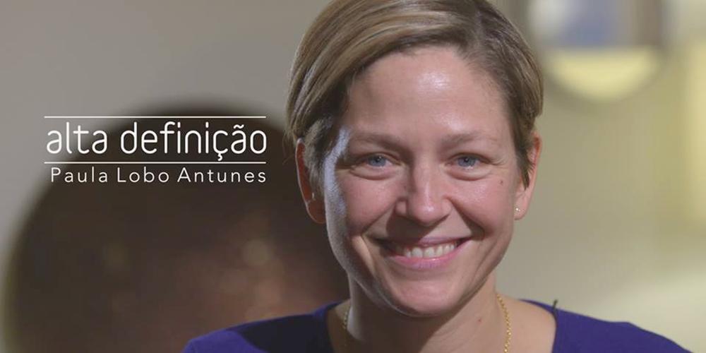 Paula Lobo Antunes é a convidada da semana do «Alta Definição»