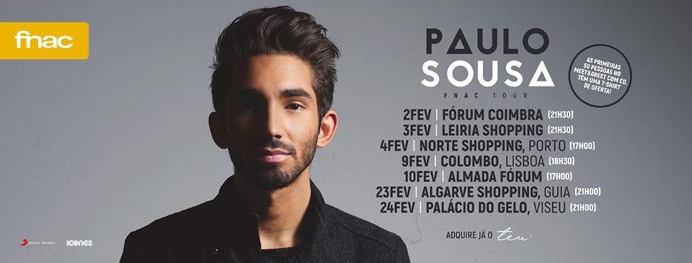 Paulo Sousa apresenta disco de estreia nas lojas FNAC