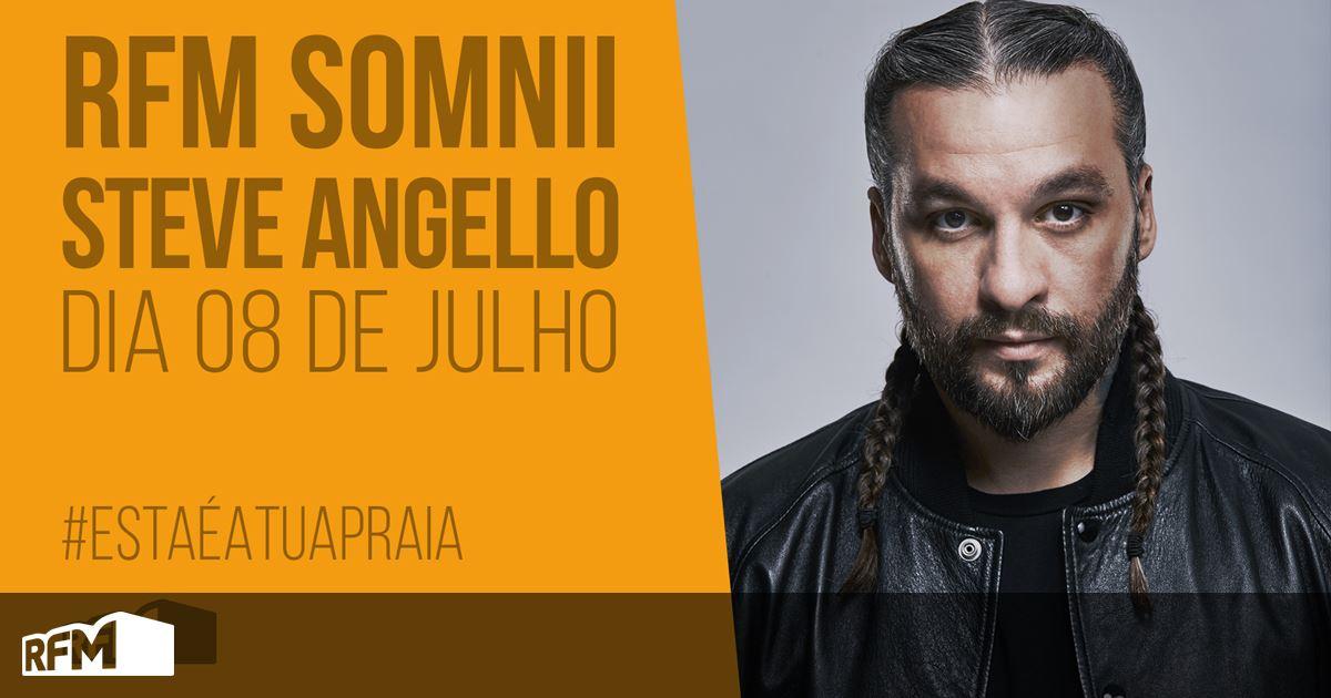 Steve Angello é mais recente confirmação do «RFM Somnii 2018»