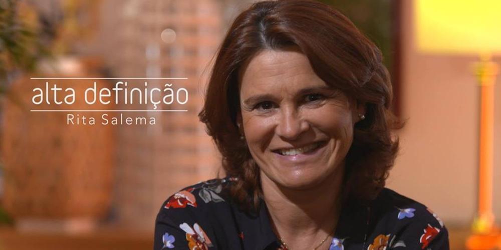 «Alta Definição» recebe esta semana Rita Salema