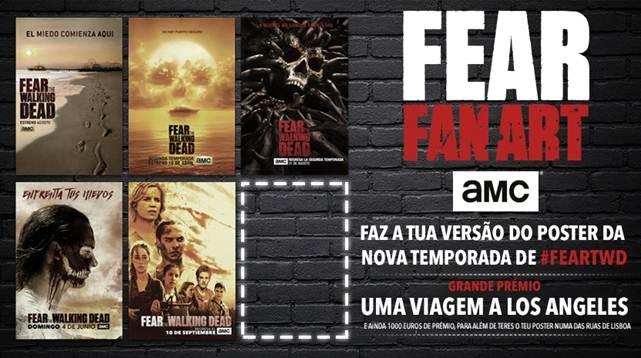 AMC abre concurso para criação de poster da série «Fear The Walking Dead»
