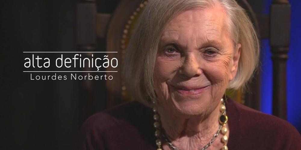 Lourdes Norberto é a convidada da semana do «Alta Definição»