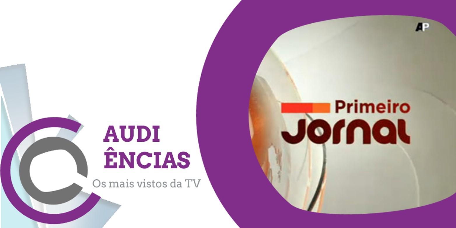 Audiências   SIC: «Primeiro Jornal» ultrapassa «Jornal da Noite»