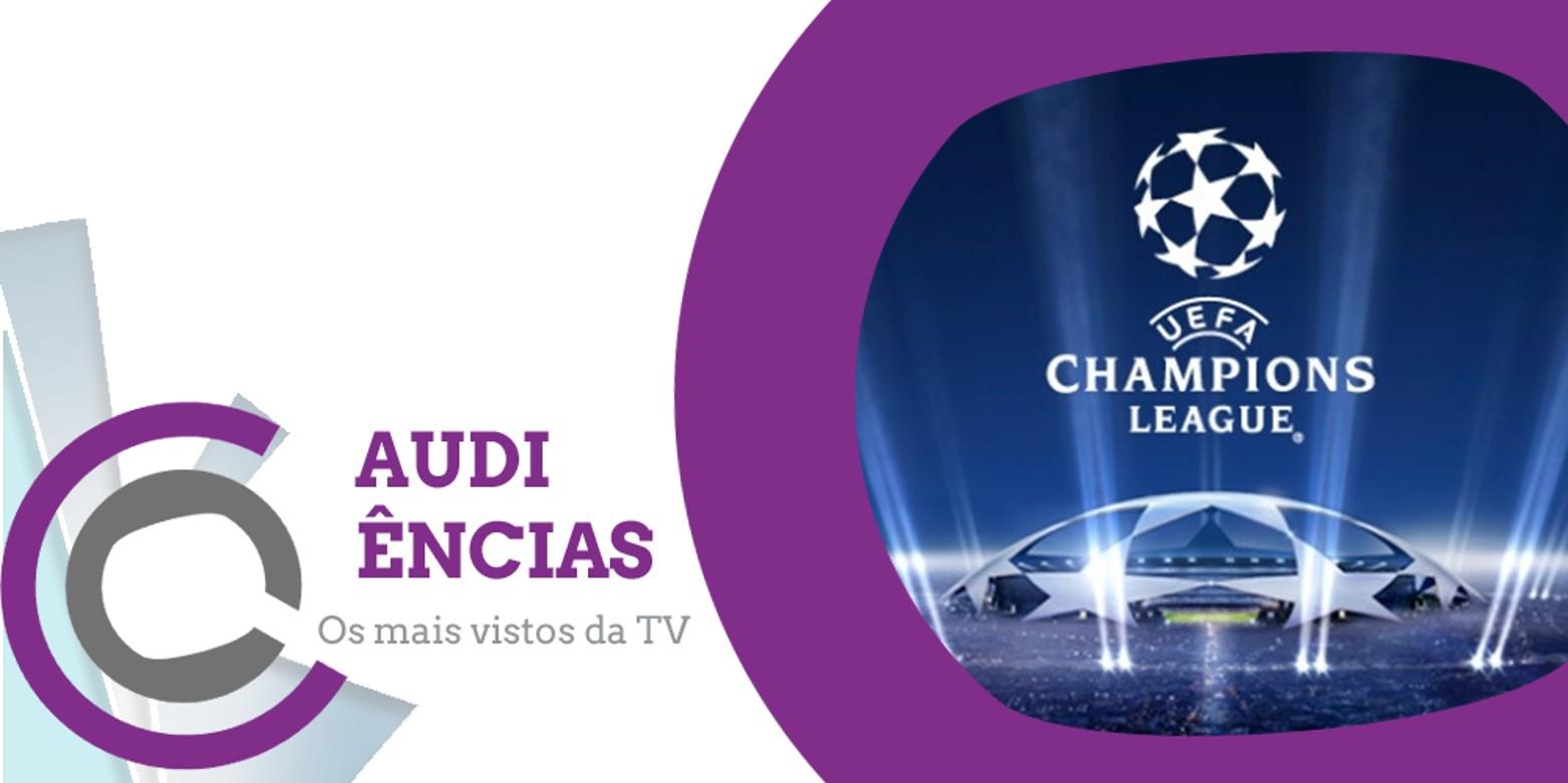 Audiências | «Liga dos Campeões» conquista liderança neste feriado