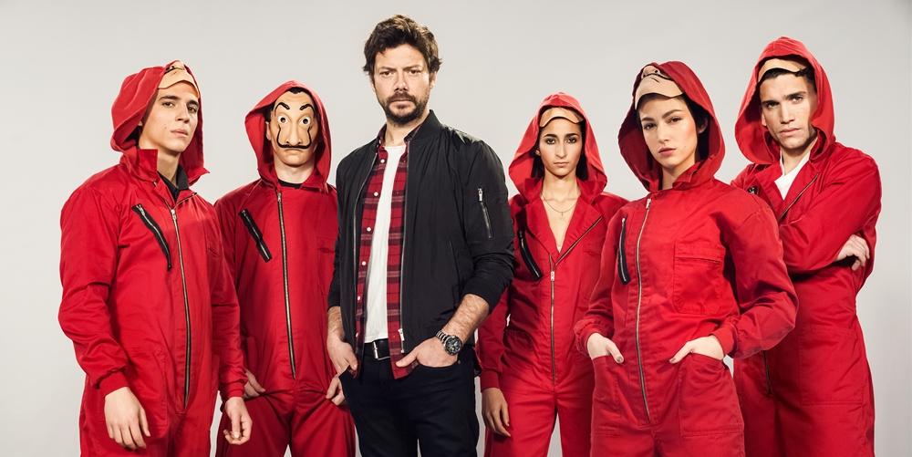 Netflix anuncia oficialmente terceira parte de «La Casa de Papel»