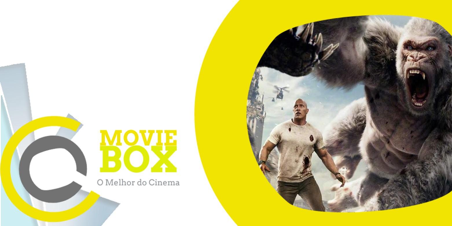 MovieBox #117   19 a 22 de abril   «Rampage» segue na liderança