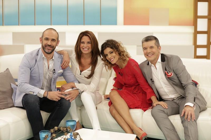 João Moleira, Bárbara Guimarães, Andreia Rodrigues, João Baião