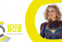 MovieBox #147 | 14 a 17 de março | «Captain Marvel» segue firme na liderança