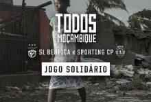 TVI transmite jogo solidário «Todos Moçambique» entre Benfica e Sporting
