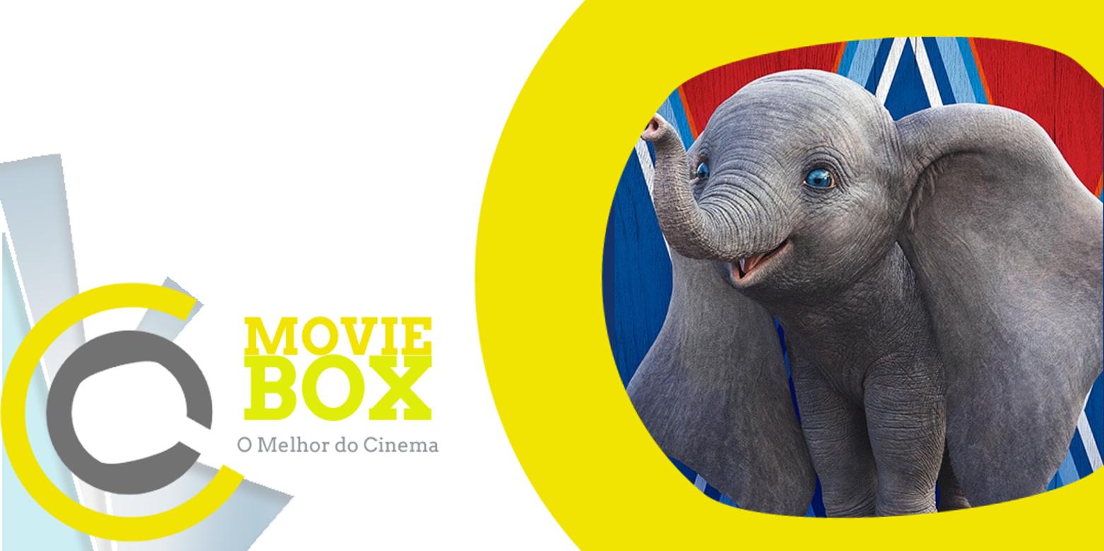 MovieBox #150 | 04 a 07 de abril | «Dumbo» resiste a «Shazam» e lidera