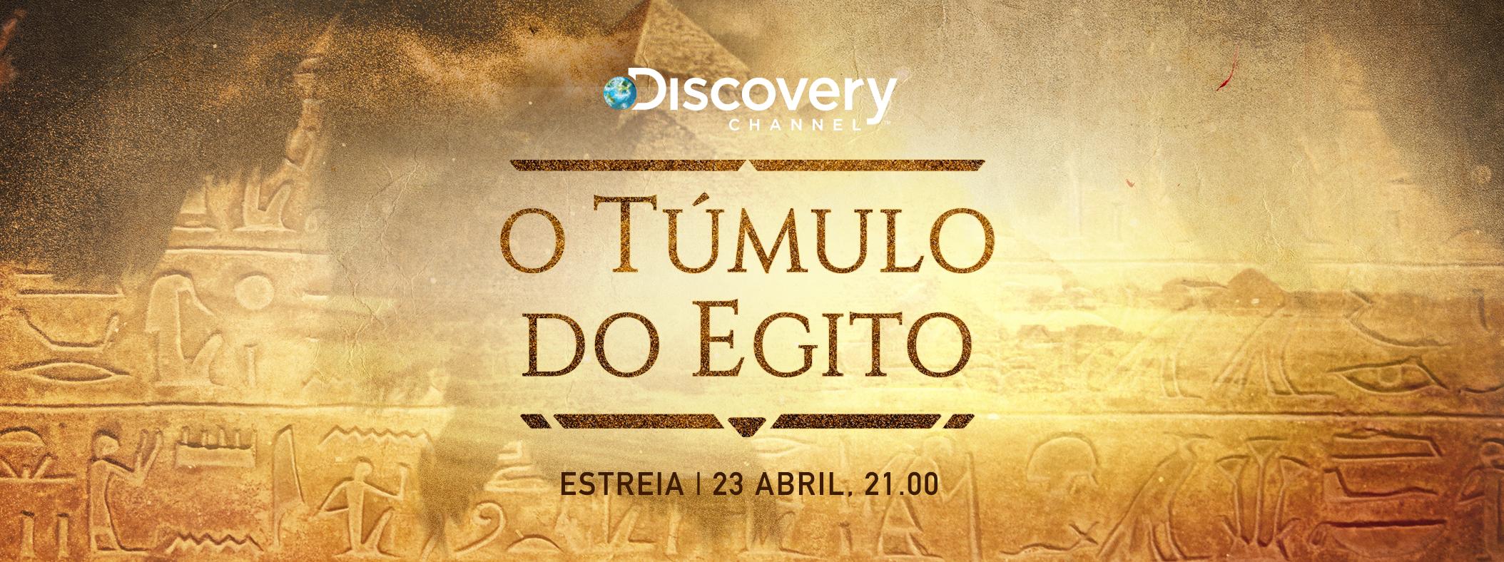 «O Túmulo do Egito» estreia em exclusivo no Discovery Channel