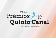 Prémios Quinto Canal 2019: Os destaques da área da TELEVISÃO