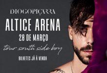 Diogo Piçarra anuncia Murta na primeira parte do concerto na Altice Arena