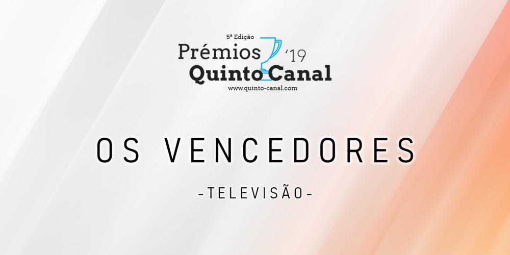 Prémios QC 2019 - Vencedores - Televisão
