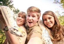Família da série «The Irwins» salva animais dos fogos da Austrália