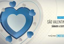 TVCine Emotion dedica emissão especial ao Dia de São Valentim