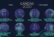 Conheça a ordem de atuação da grande final do «Festival da Canção 2020»