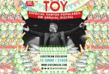 Toy aposta em arraial digital através de concerto especial