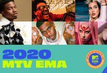 «MTV EMA's 2020»: Conheça a lista dos nomeados