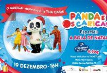 «Panda e Os Caricas» fazem musical de Natal online