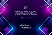 Prémios Quinto Canal 2020 – Os Vencedores (Televisão)