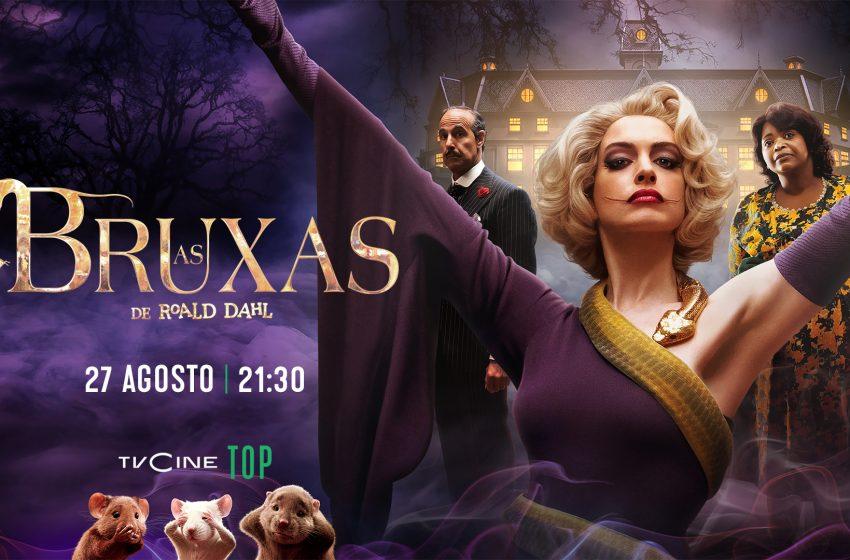 TVCine estreia «As Bruxas de Roald Dahl»