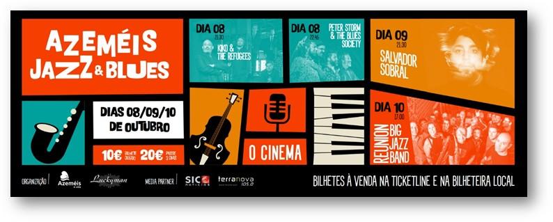 Qultura: Conheça a primeira edição do «Azeméis Jazz & Blues»