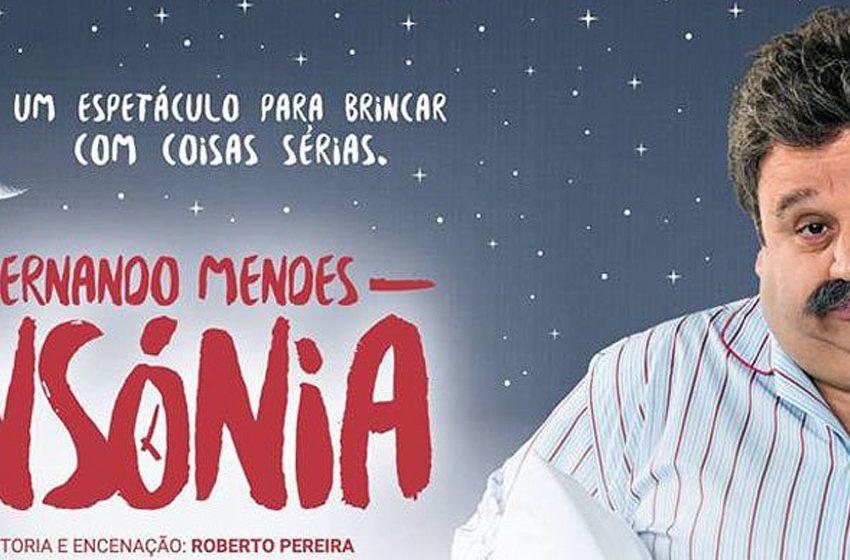 Qultura: Fernando Mendes leva a peça «Insónia» até França