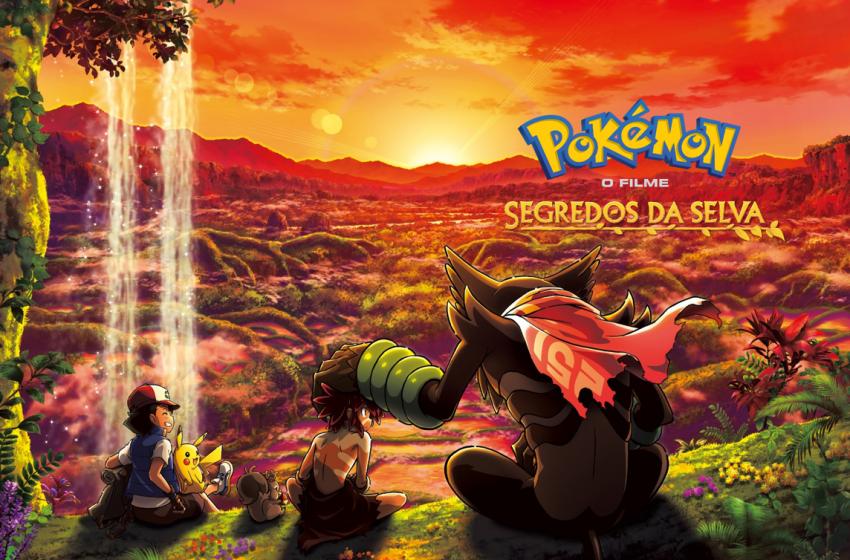 «Segredos da Selva»: Netflix estreia novo filme da saga Pokémon