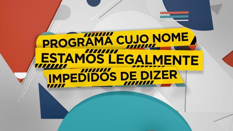 «Governo Sombra» chega ao fim. Este é o novo nome do programa.
